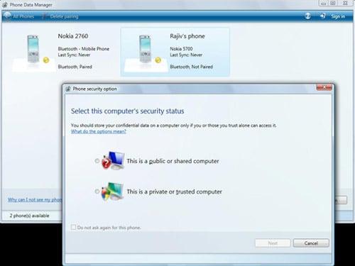 Microsoft Phone Data Manager