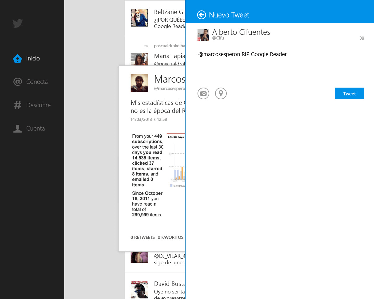 Twitter for Windows 10