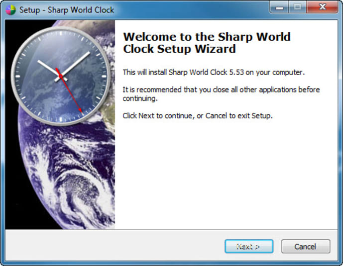 Sharp World Clock