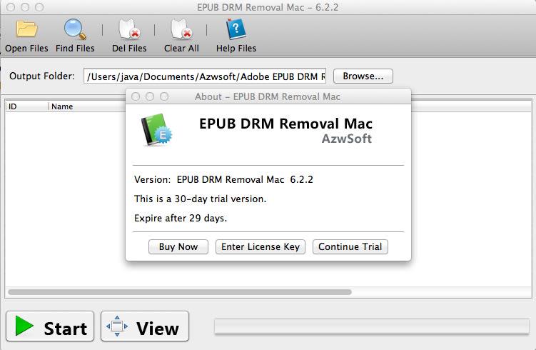 EPUB DRM Removal Mac