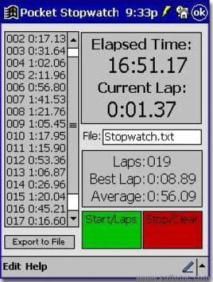 Pocket Stopwatch