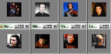Star Trek Next Generation Icons