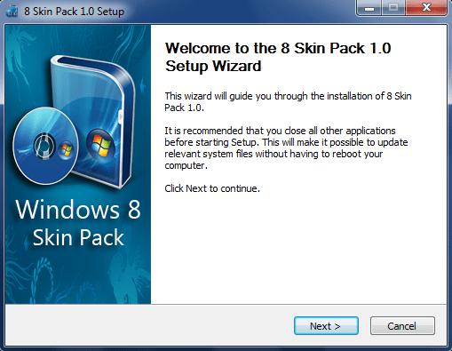 8 Skin Pack