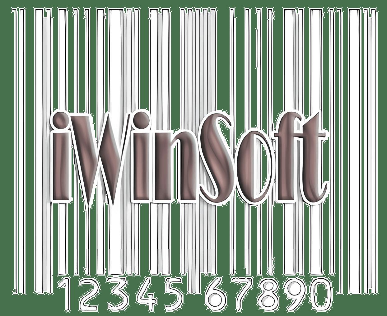 Mac用iWinSoftバーコードメーカー