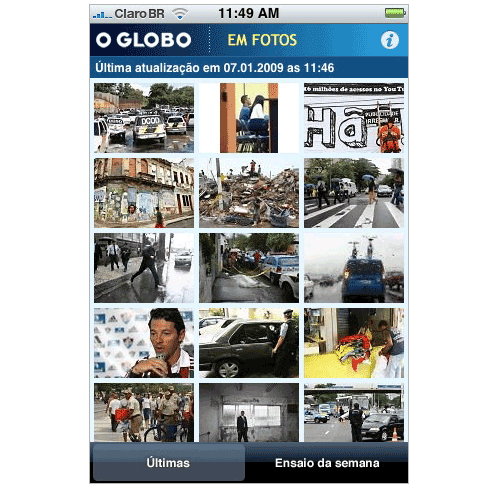 O Globo em fotos