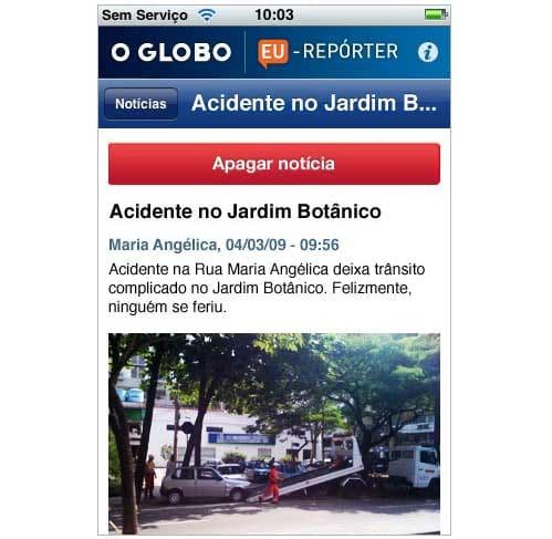 O Globo Eu-Repórter