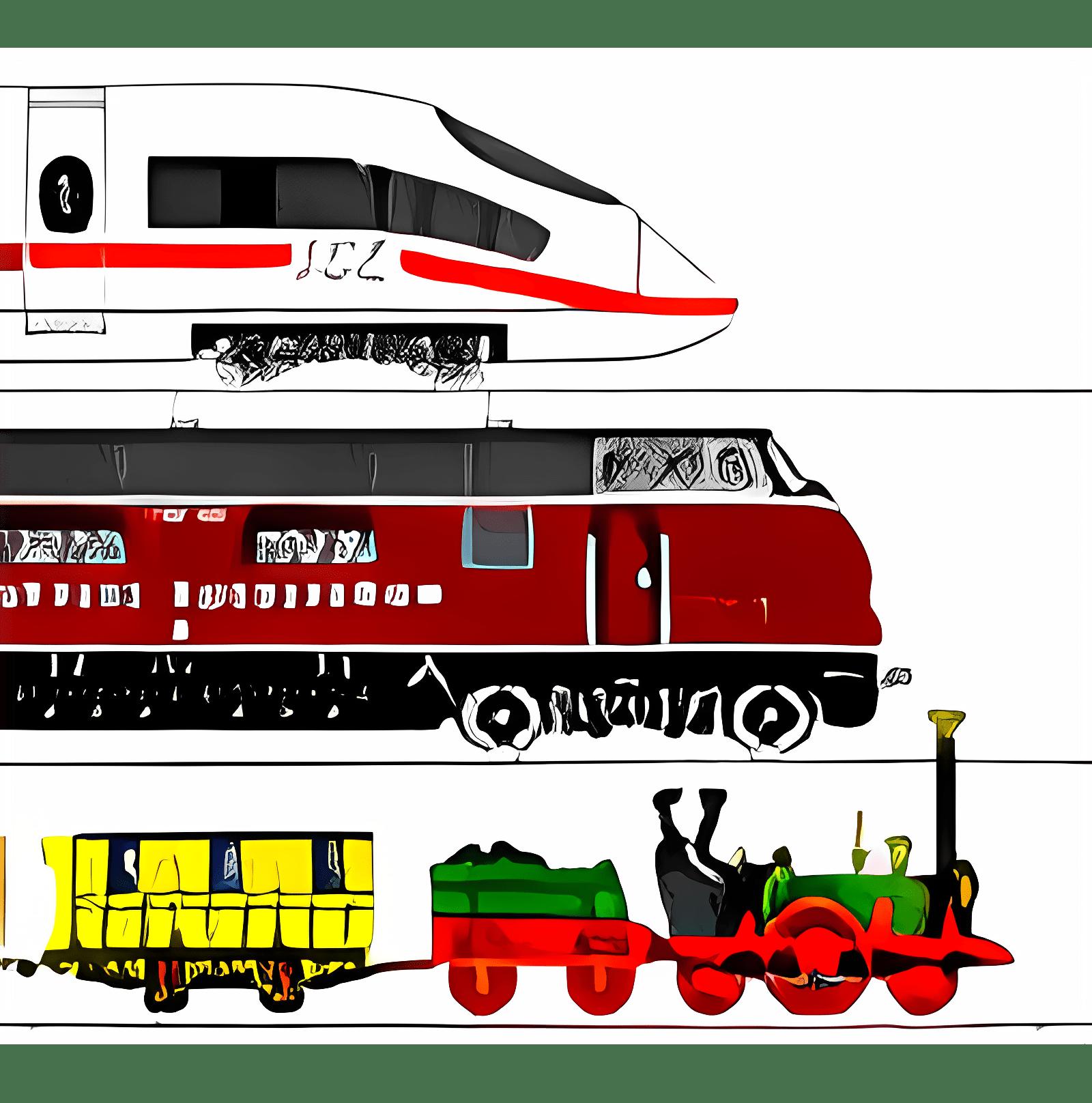 MM Eisenbahn Bildschirmschoner