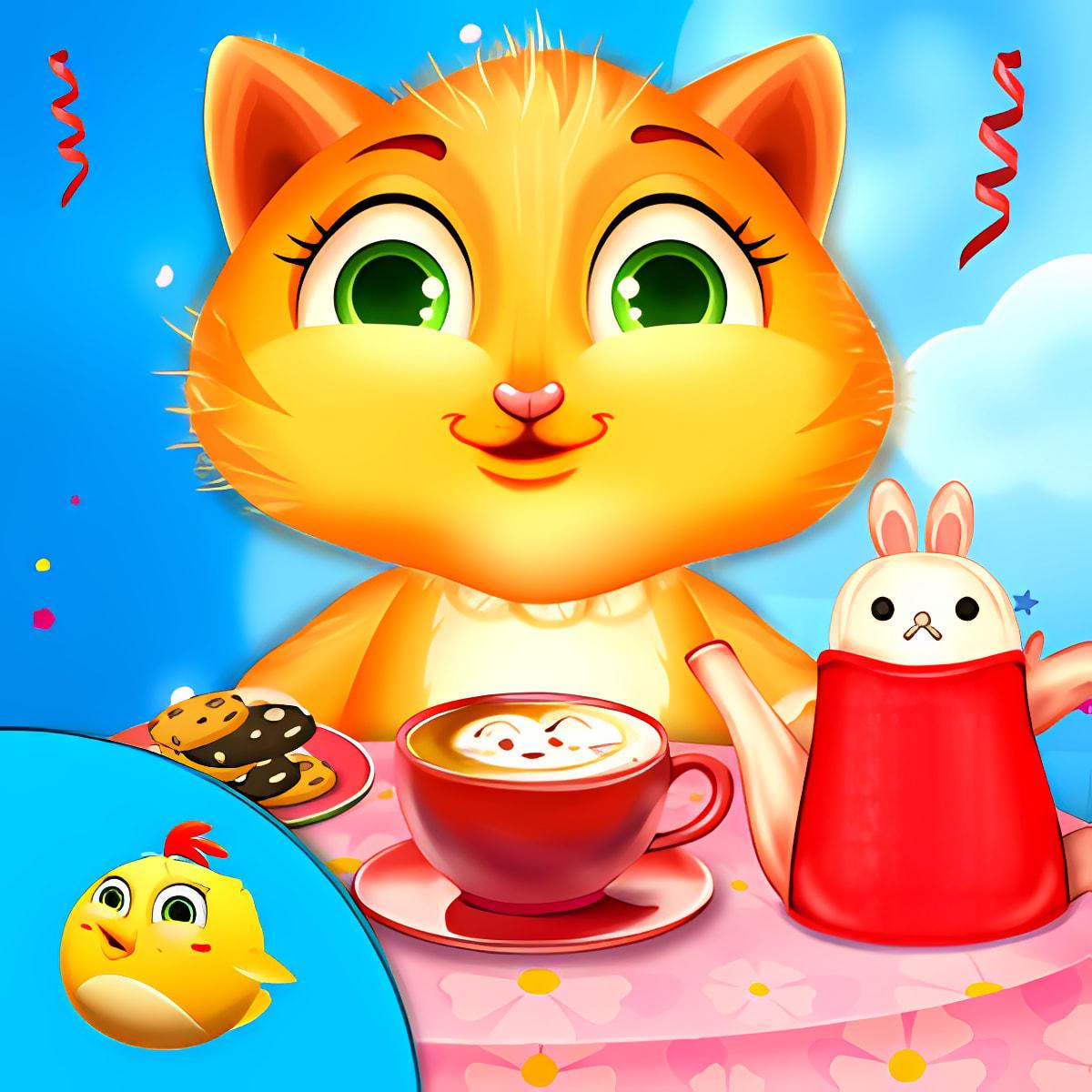 Mi gatito Tea Party
