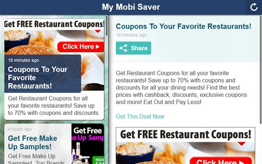 My Mobi Saver