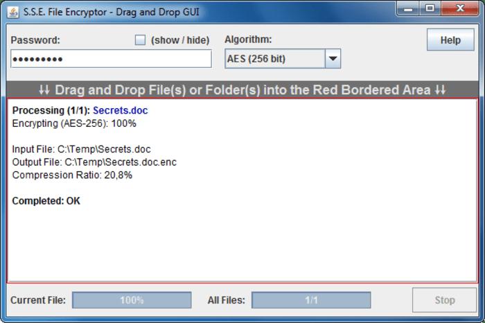 S.S.E. File Encryptor
