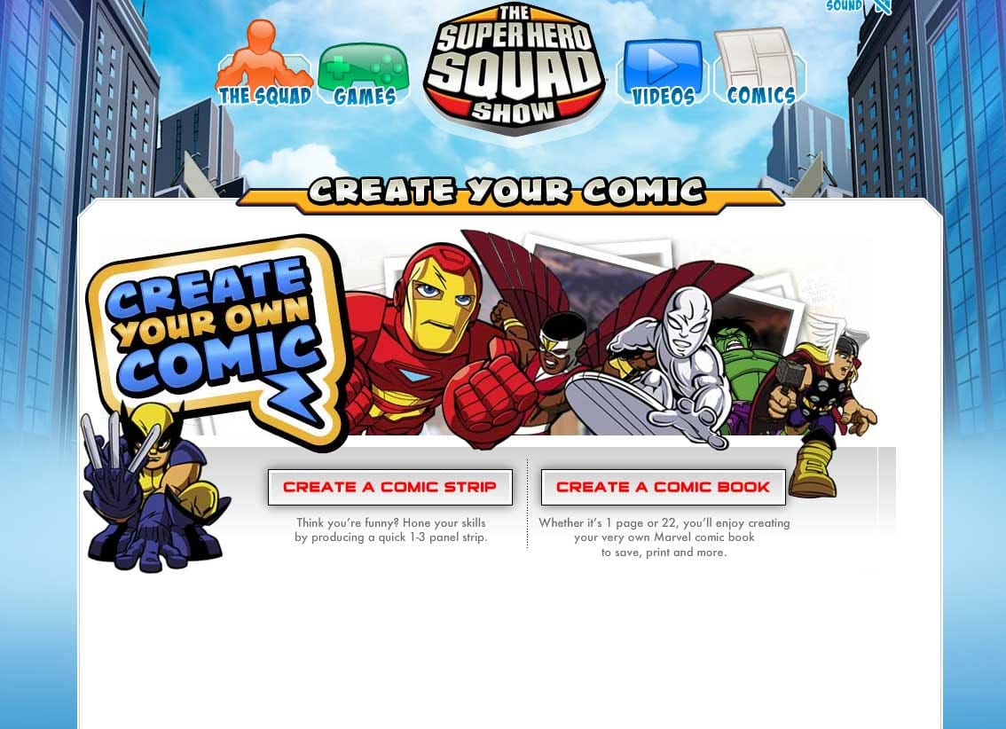 Create Your Own Comic