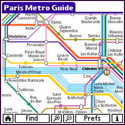 Paris Metro Guide