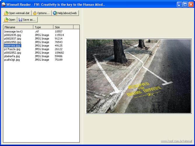 Winmail Reader