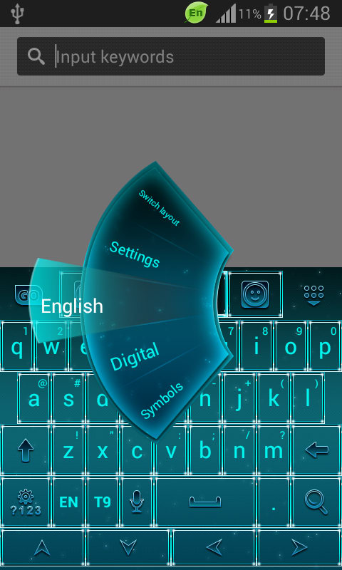 Keyboard for LG G3