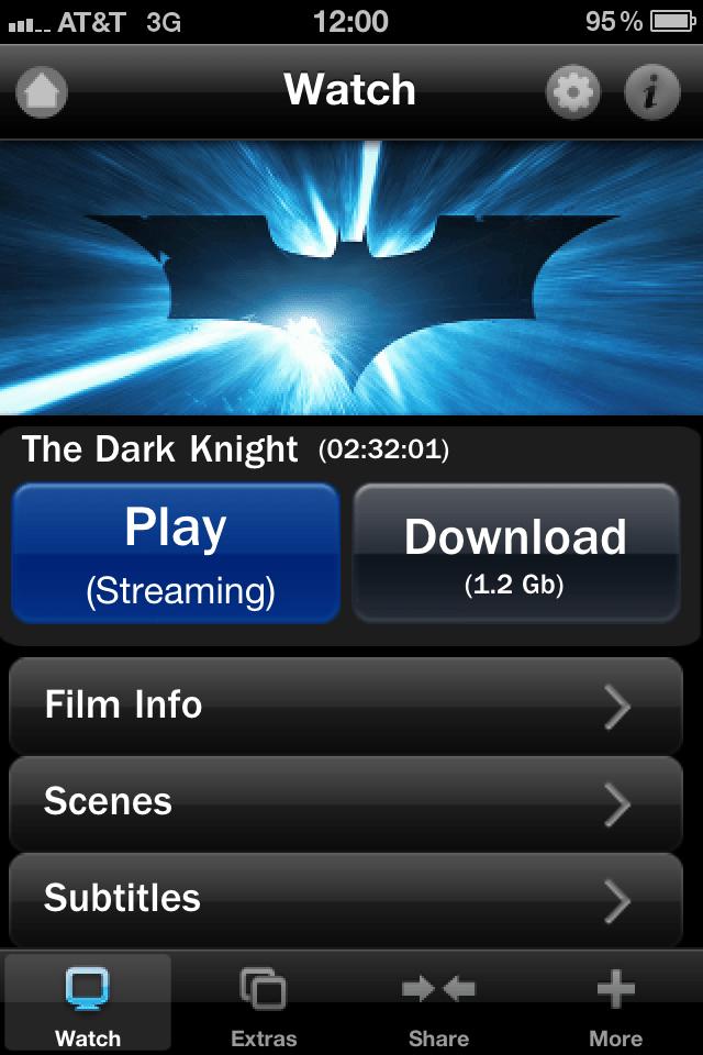 The Dark Knight: App Edition