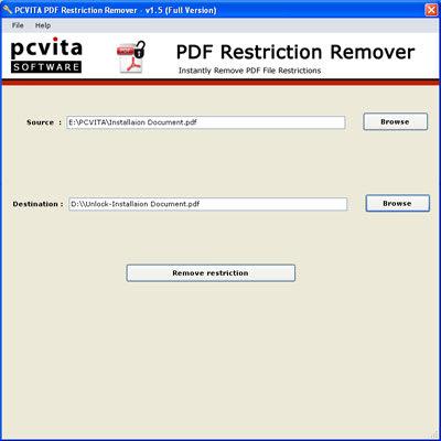 PCVITA PDF Unlocker