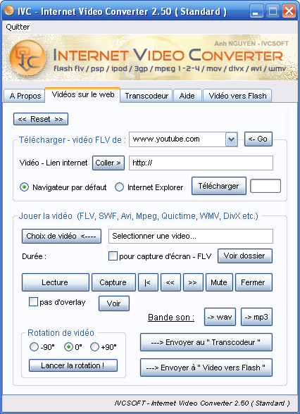 Internet Video Converter