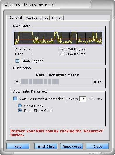 RAM Resurrect