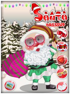 De Santa Dressup - Juego de N