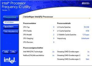 Intel Processor Frequency ID