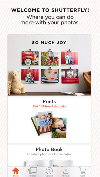 Shutterfly for iPhone