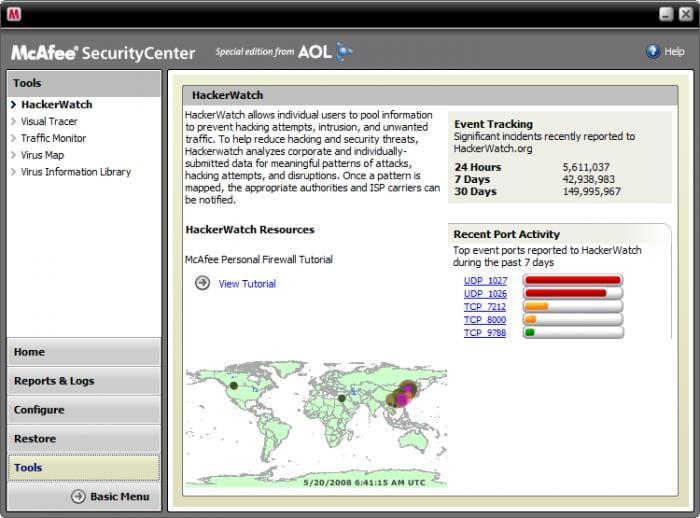 McAfee VirusScan Plus AOL Edition