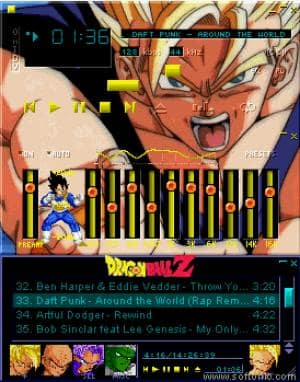 Another Dragon Ball Z Skin 2
