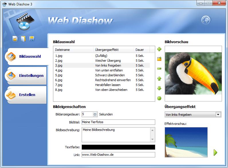 Web Diashow