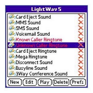 LightWav for Treo