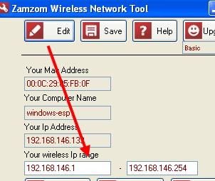 Zamzom Wireless Network Tool