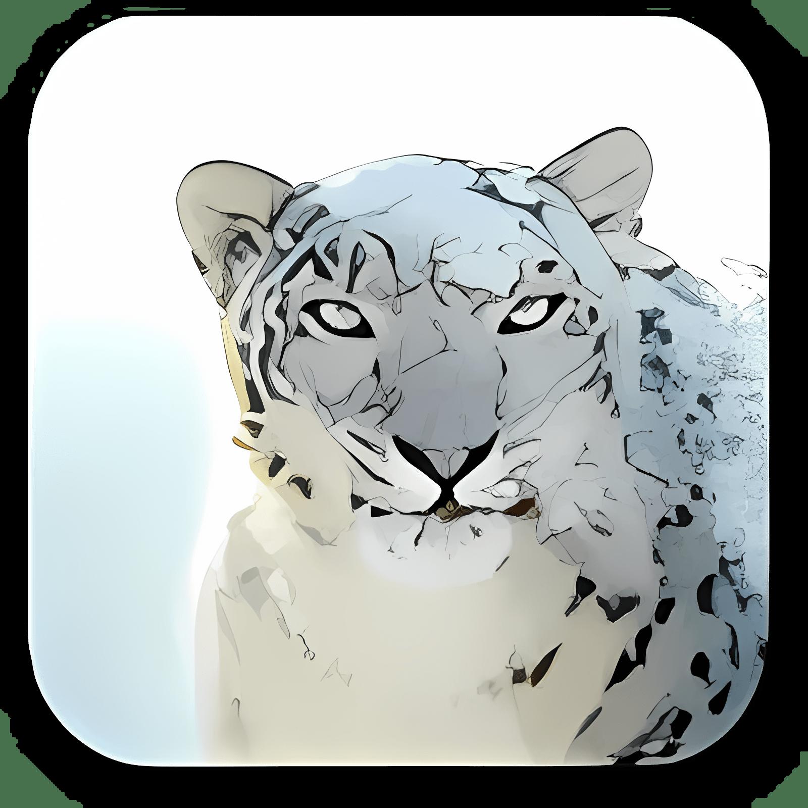 Snow Leopard Desktop Pictures