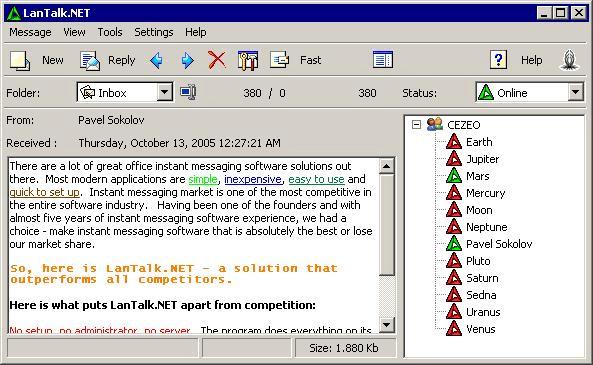 LanTalk NET
