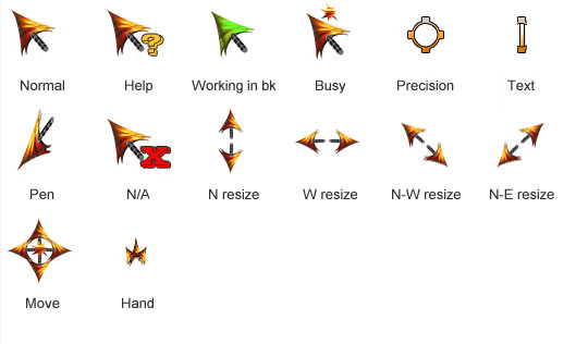 Love's Dying Embers Cursor