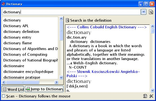 Ultimate Dictionary