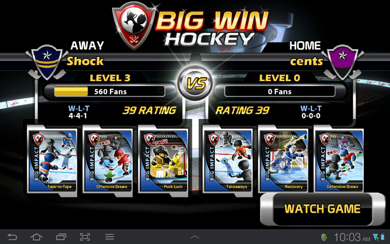 Big Win Hockey