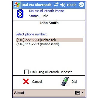 Free Bluetooth Dialer