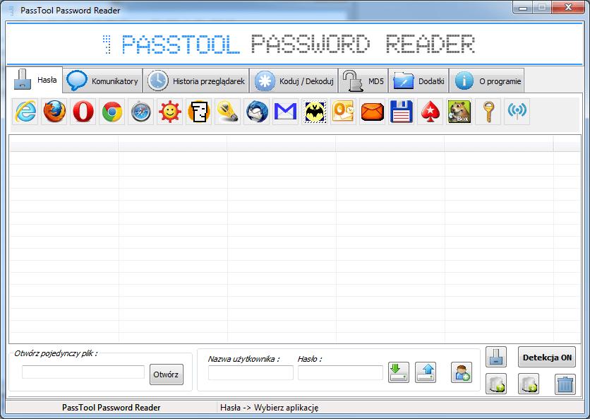PassTool Password Reader
