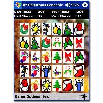 IM Christmas Concentration