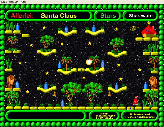 Santa claus stars download