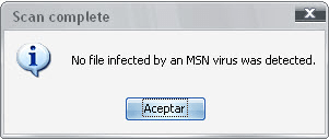 Clean Virus MSN