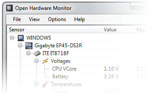 Open Hardware Monitor