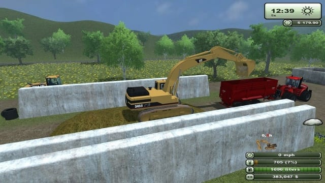 Farming Simulator: Cat 345B Pack