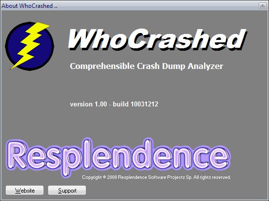 WhoCrashed