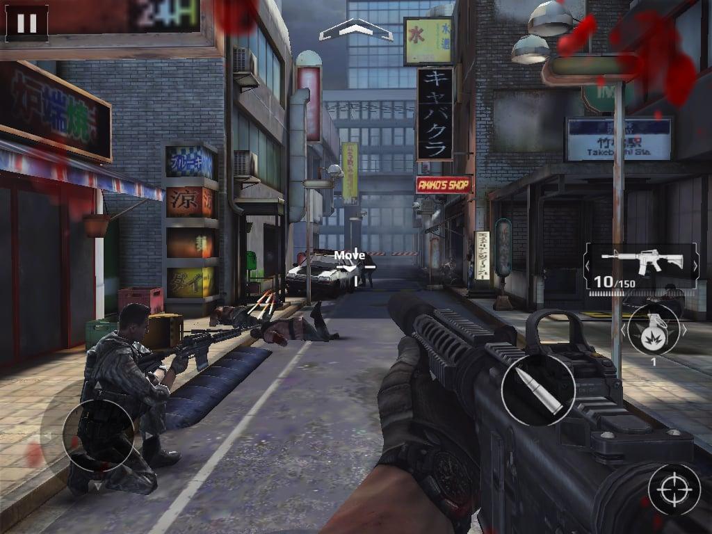 Modern Combat 5: Blackout na Windows 10