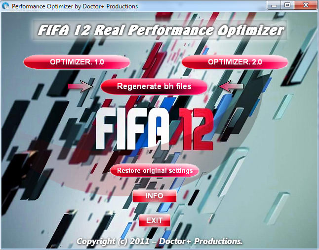 FIFA 12 Gameplay Evolution Tool Plus