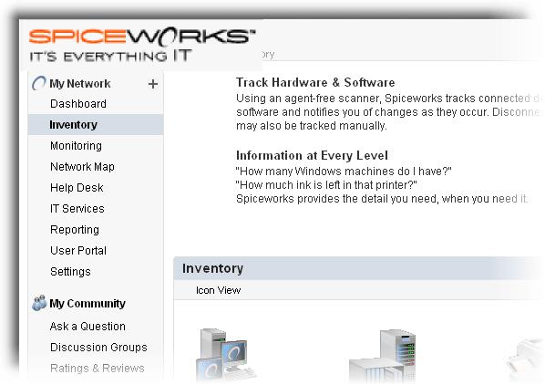 Spiceworks IT Management Software
