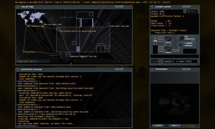 Hacker Evolution - Reinsertion