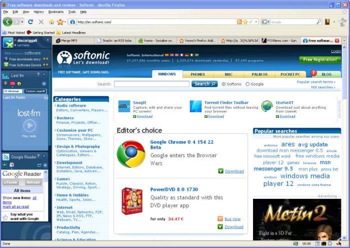 Yoono Firefox Extension