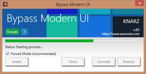 ByPass Modern UI