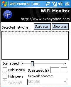 PocketPC WiFi Monitor